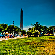 National Museum Of America History Prints - Washington Monument Print by David Hahn