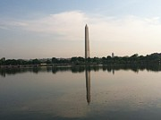 D Pyrography Prints - Washington Monument Print by David Stich