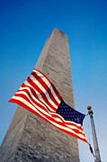 4th July Photo Prints - Washington Monument Print by Ilker Goksen