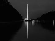 Washington Monument Reflecting Print by Jeff Stein