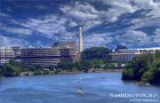 Washington D.c. Digital Art Originals - Washington Monument by Wayne Fleshman