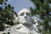 Thomas Jefferson Prints - Washington on Mount Rushmore Print by Jon Berghoff
