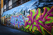 San Francisco Street Photos - Washington Park Graffiti by Anthony Citro