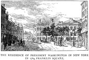 American City Prints - Washington: Residence Print by Granger