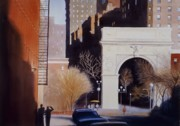 Washington Square Paintings - Washington Square by Daniel Dayley