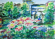 Washington Square Paintings - Washington Square New York City by Christine