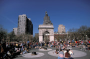 Washington Square Park Photos - Washington Square Park by Marc Bittan