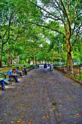 Washington Square Park Photos - Washington Square Park by Randy Aveille