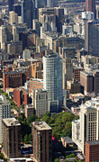 Aerial Photography Originals - Washington Square Philadelphia Pennsylvania by Duncan Pearson