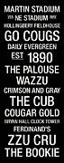Cougar Posters - Washington State College Town Wall Art Poster by Replay Photos