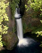 Washington Waterfall Print by Marty Koch