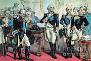 Colonial Man Prints - Washingtons Farewell To His Officers Print by Photo Researchers