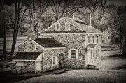 Washington Art - Washingtons Headquarters - Valley Forge Pa by Bill Cannon