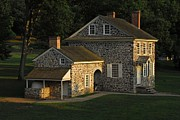 Presidents Framed Prints Framed Prints - Washingtons Headquarters at Valley Forge Framed Print by Cindy Manero