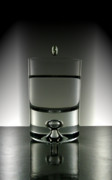 Shot Glass Prints - Waste Not One Drop Print by JR  Images