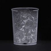Paper Cut Outs Prints - Waste Paper Bin Print by Mark Sykes