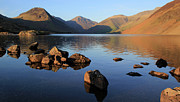 Lake District Framed Prints - Wastwater Framed Print by photography by Linda Lyon