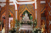 Buddhist Photo Prints - Wat Chalong 4 Print by Metro DC Photography