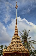 Temple Photo Framed Prints - Wat Chalong 5 Framed Print by Metro DC Photography