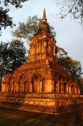 Sat Photos - Wat Pa Sat, A 14th C. Temple by Anne Keiser