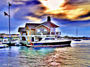 Fishing Village Digital Art - Watch Hill by Stephen Younts