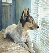 Don Bosley Art - Watchdog by Don Bosley
