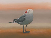 Carol Pastels - Watching  Canvas Giclee Print by Carol Thompson