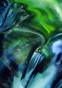 Beautiful Creek Posters - Water Abstract Poster by Darren Fisher