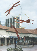 Olympics Sculptures - Water Babies by Esther Wertheimer