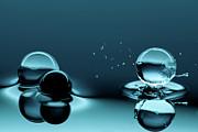 Water Balls Print by Alex Koloskov Photography