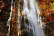 Color Theory Posters - Water Flow Poster by Keith Kapple