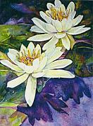 Water Lilies Print by Norma Boeckler