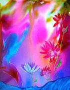 Fantasy Photo Originals - Water Lillies by Joyce Auteri
