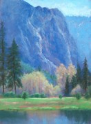 Yosemite Pastels - Water Meadow in April by Barbara Beaudreau