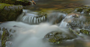 Smokey Mountains Prints - Water Movement 33 Print by Stephen  Vecchiotti