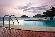 Anusorn Phuengprasert Nachol Prints - Water Pool At Koh Tao South Of Thailand Print by Anusorn Phuengprasert nachol