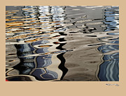 Xoanxo Cespon Prints - Water reflections 4 Print by Xoanxo Cespon
