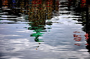 Reflections Art - Water Reflections In Victoria Canada by Tanya  Searcy