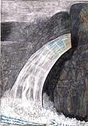 Water Series-greenwich Ny Print by Al Goldfarb