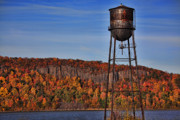 Water Tower Photos - Water Tower by June Marie Sobrito
