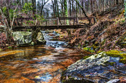 Beautiful Creek Prints - Water under the Bridge Print by Steve Hurt