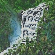 Water Print by Usha Rai