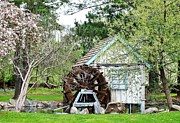 Weels Prints - Water Wheel Print by Jim Goldseth