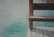 Dock Drawings Originals - Water15 by Jeffrey Babine