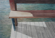 Dock Drawings Originals - Water3 by Jeffrey Babine