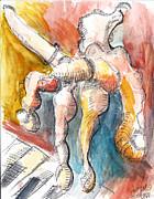 Jon Baldwin  Art - Watercolor 4