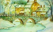 Cristy Crites - Watercolor Bridge