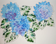 Carol Bruno - Watercolor Hydrangea