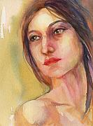 Neck Originals - Watercolor Woman by Peggy Wilson