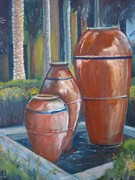 Jars Paintings - Watercooling by Brigitte Roshay